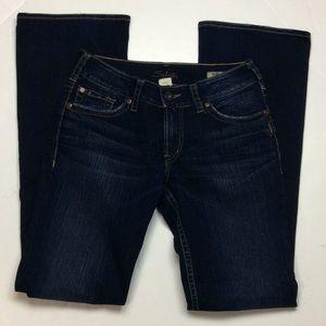 Silver Suki Womens Bootcut Dark Jeans Sz 29X34